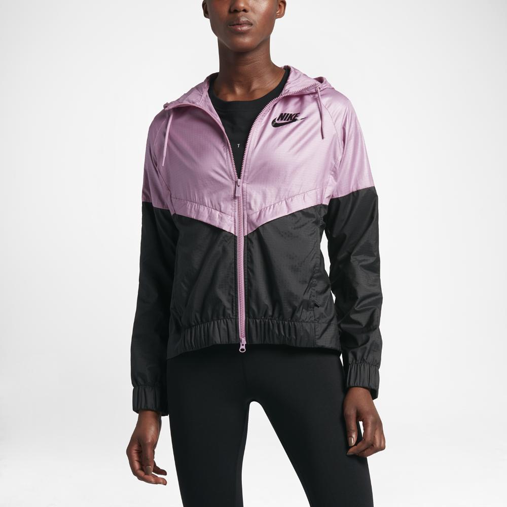 53fced6bb5ee Nike Sportswear Windrunner Women s Jacket Size Medium (Purple ...