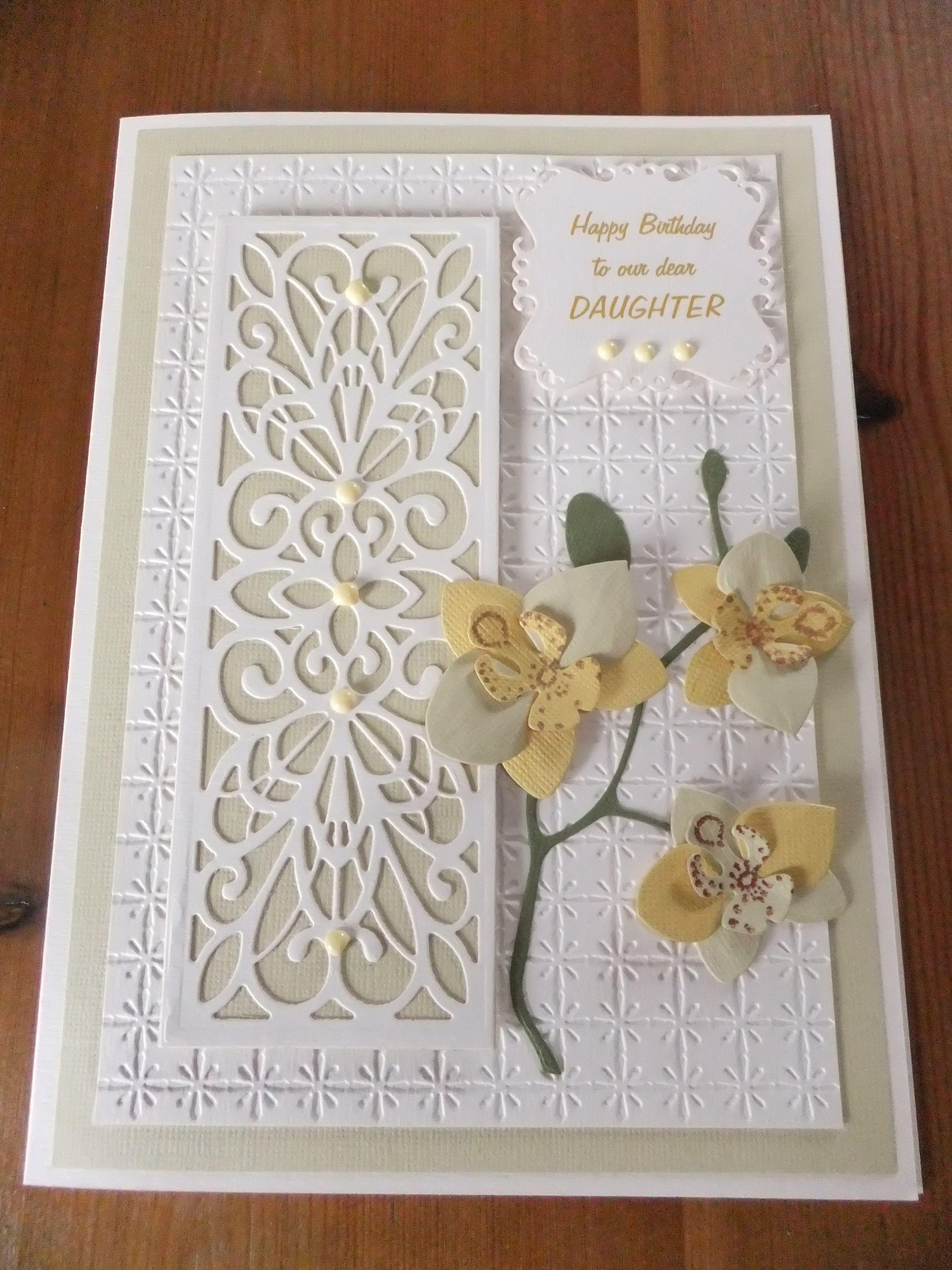 Sue Wilson die & Marianne orchid die Pinterest birthday