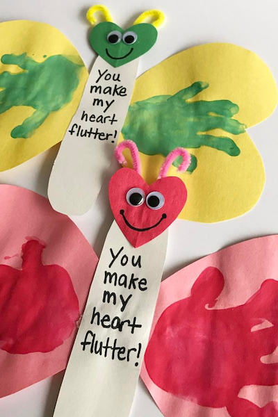 28 Adorable Valentine's Day Crafts for Kids -   21 kids crafts for toddlers