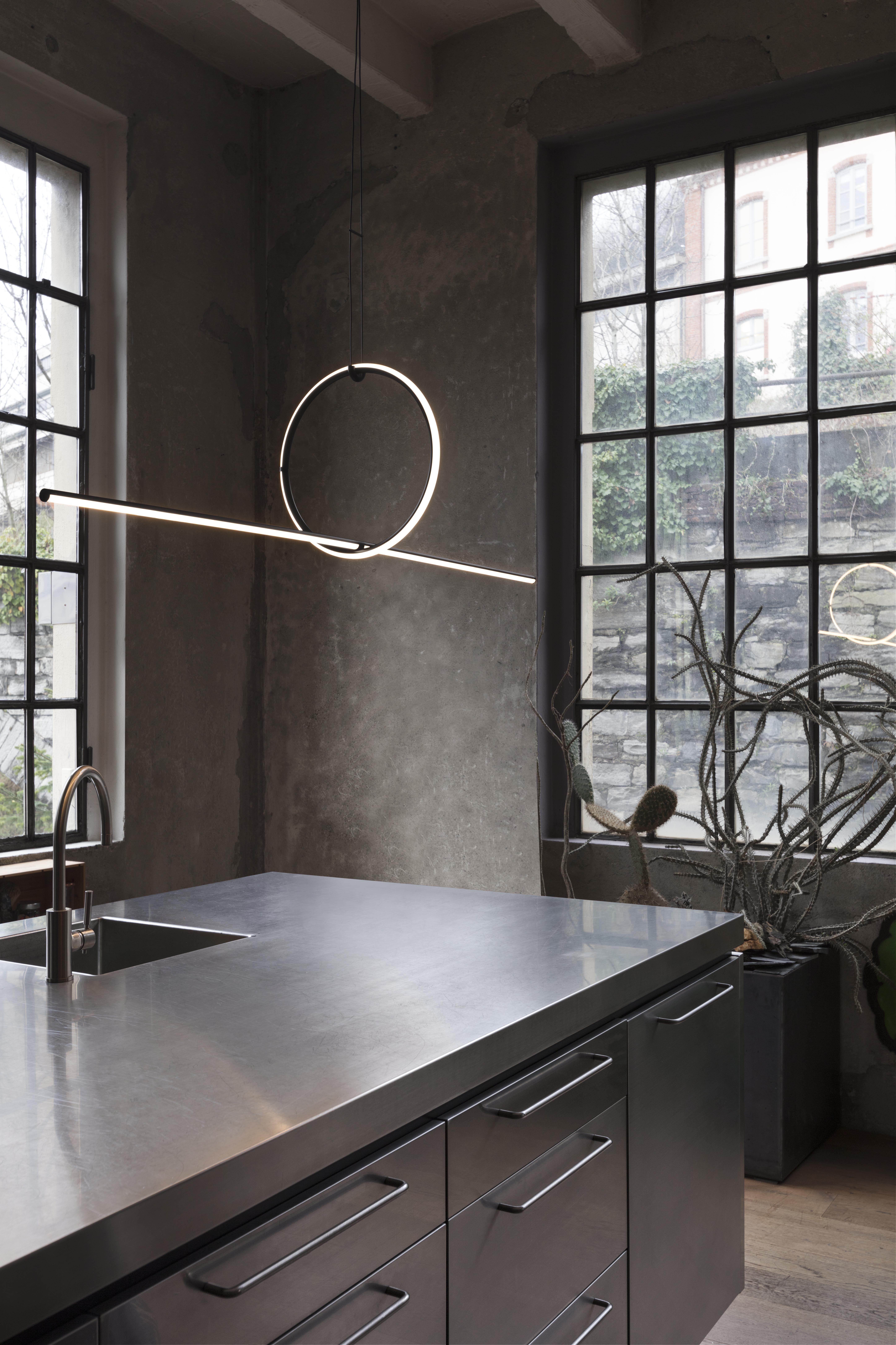 Arrangements Round Large Lamp Suspension Flos Interior Lighting Modern Lighting Design Flos