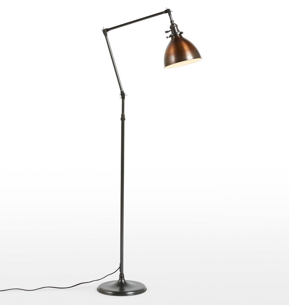 Lite Master Jaclyn Floor Lamp In Oil Rubbed Bronze On Solid Brass Finish F7387rz Sr In 2021 Floor Lamp Lamp Metal Lamp