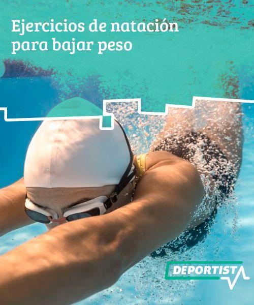 Entrenamiento piscina bajar de peso