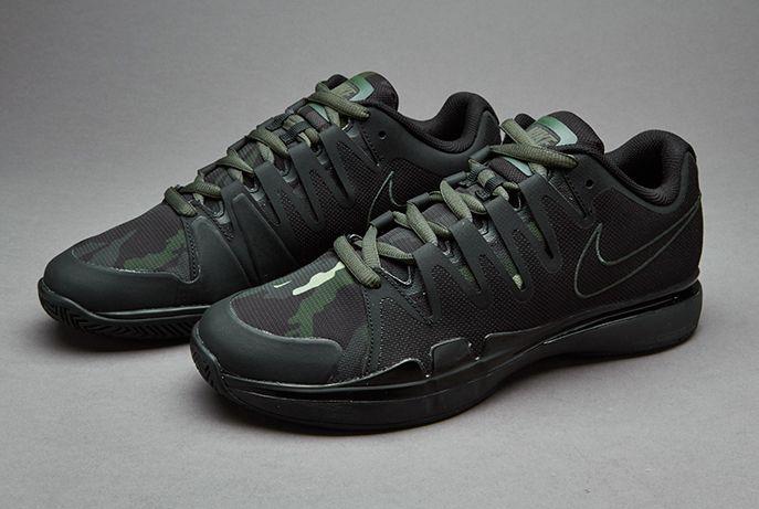 8f672916d877 Nike Zoom Vapor 9.5 Tour Camo - Black   Carbon Green-Anthracite-Alligator