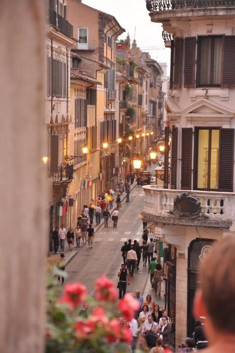 Rome - Piazza di Spagna, Italy.