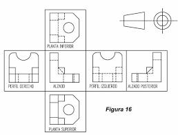 Orden De Vistas En Dibujo Tecnico Buscar Con Google Autocad 3d Printer Projects Design