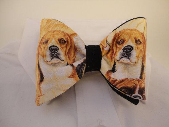Beagle Bow Tie By Sewfairycute On Etsy Accessories Necktie
