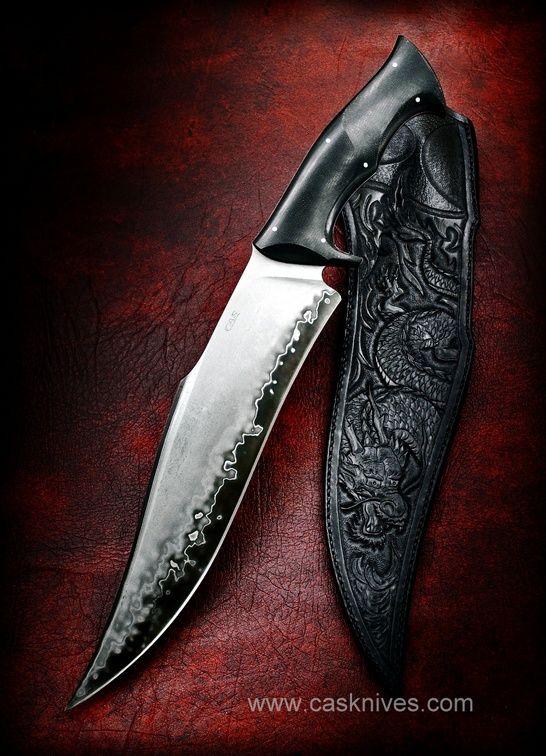 Black Dragon Cas Knives Cuchillos Artesanales Knives