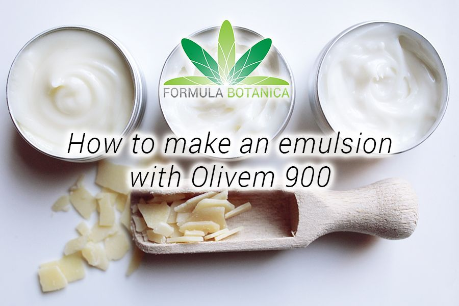 How To Make An Emulsion With Olivem 900 Handmade Skincare Handmade Beauty Products Homemade Skin Care