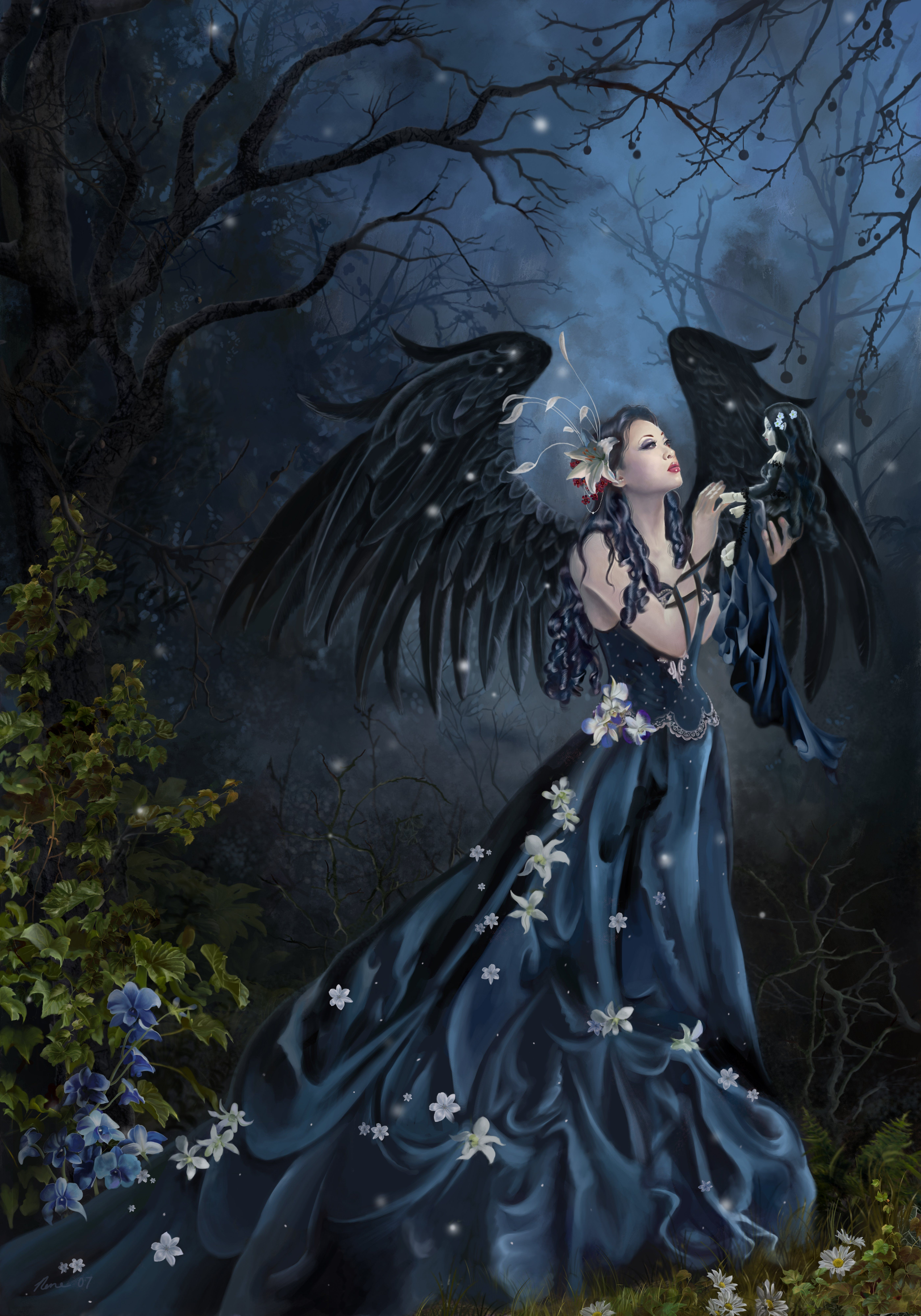 Whispers - Nene Thomas Fairies Fairy Art Fantasy