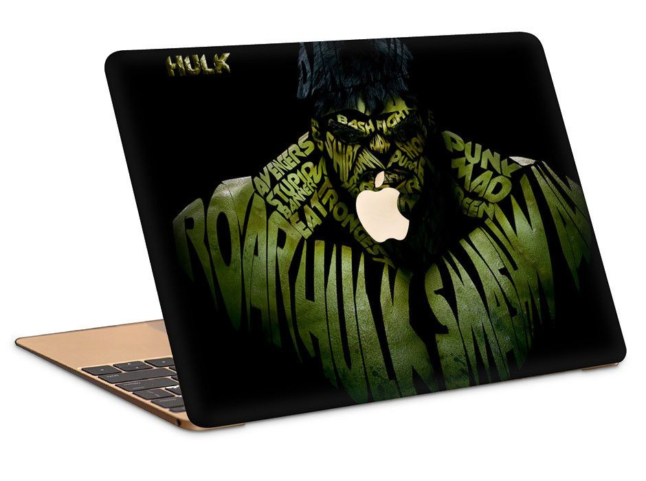 0d0f632c579c Awesome Hulk MacBook Air 11 inch | 13 inch Hard Cover Case | The Kid ...