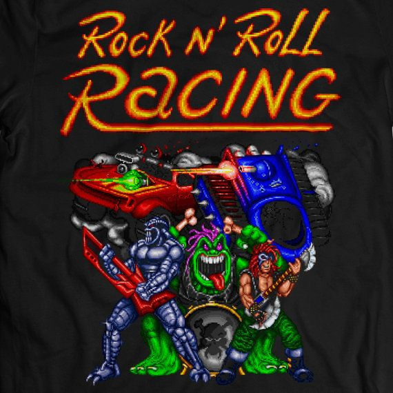 [ Best Music Game Collections ] Rock 'n' Roll Racing – Paranoid (by Black Sabbath)