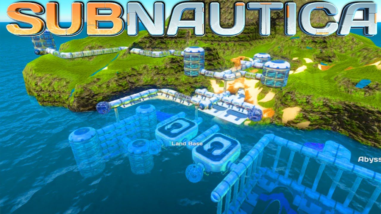 Subnautica The Island City Base! Subnautica let's play