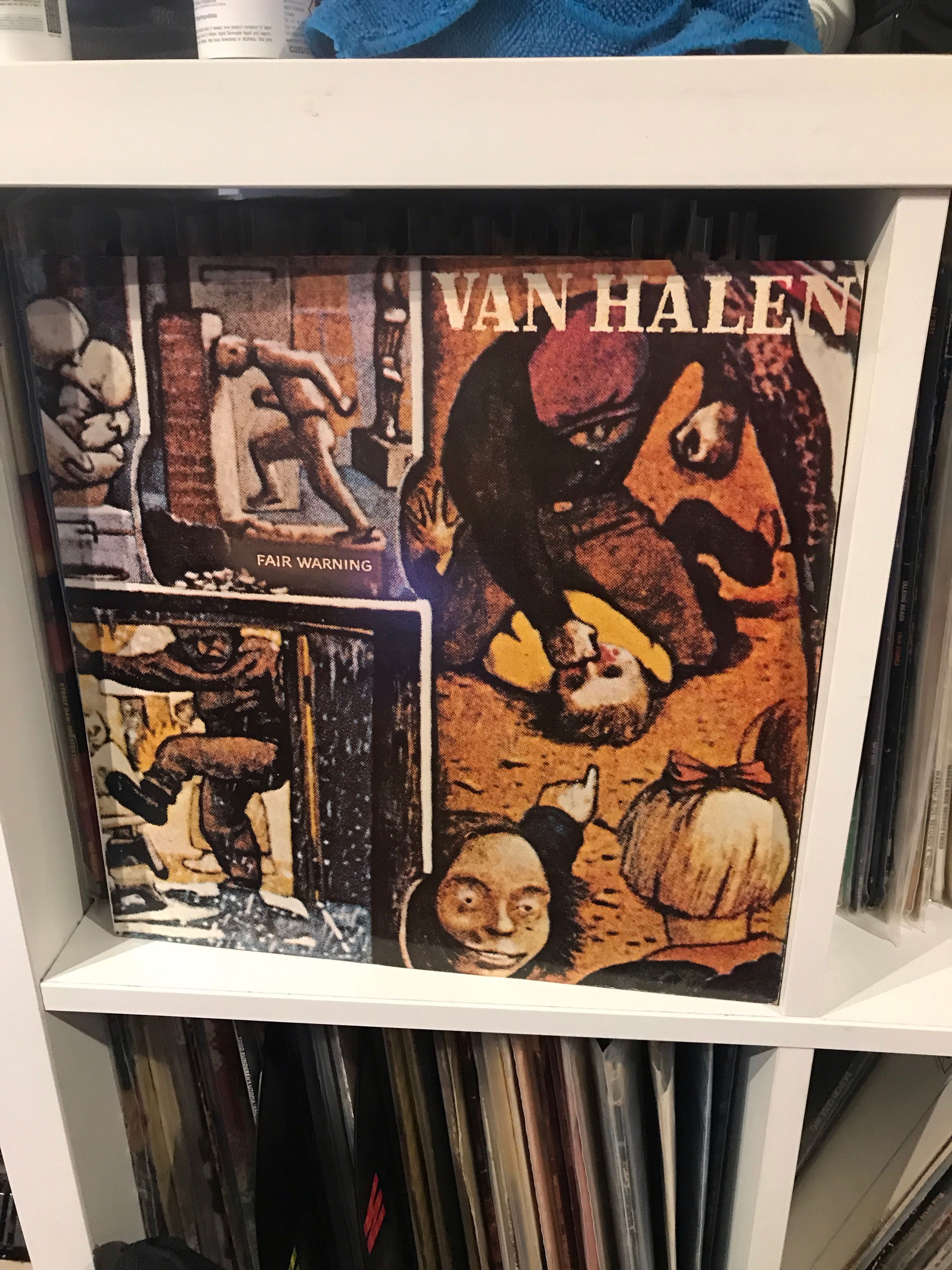 Pin By Steve Whitty On My Record Collection Van Halen Fair Warning Van Halen Record Collection