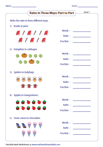 44+ 5th grade ratio worksheets Images