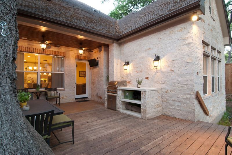 Would Love A Build In Grill Or Stone Shelves For Storage On The Terrace Like How It 39 S Sized For