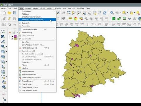 Qgis Export Symbology To Qgis Layer File Qlr Similar To