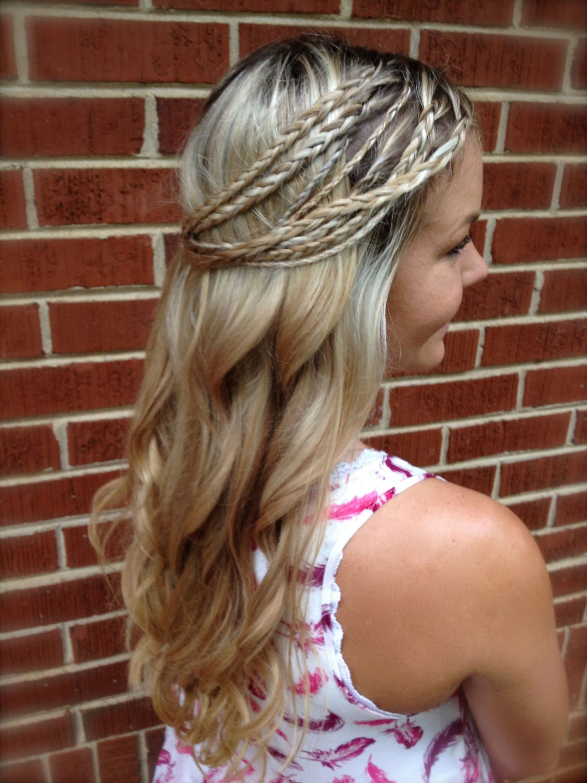 Hairstyles Hippie braids advise dress for summer in 2019