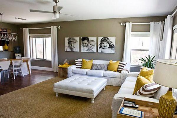 Chic L Shaped Living Room Basement Living Rooms L Shaped Living Room Living Room Designs