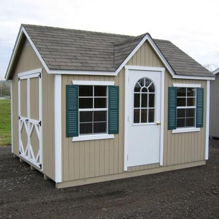 Garden Sheds 12 X 12 little cottage 12 x 8 ft. classic wood cottage panelized garden
