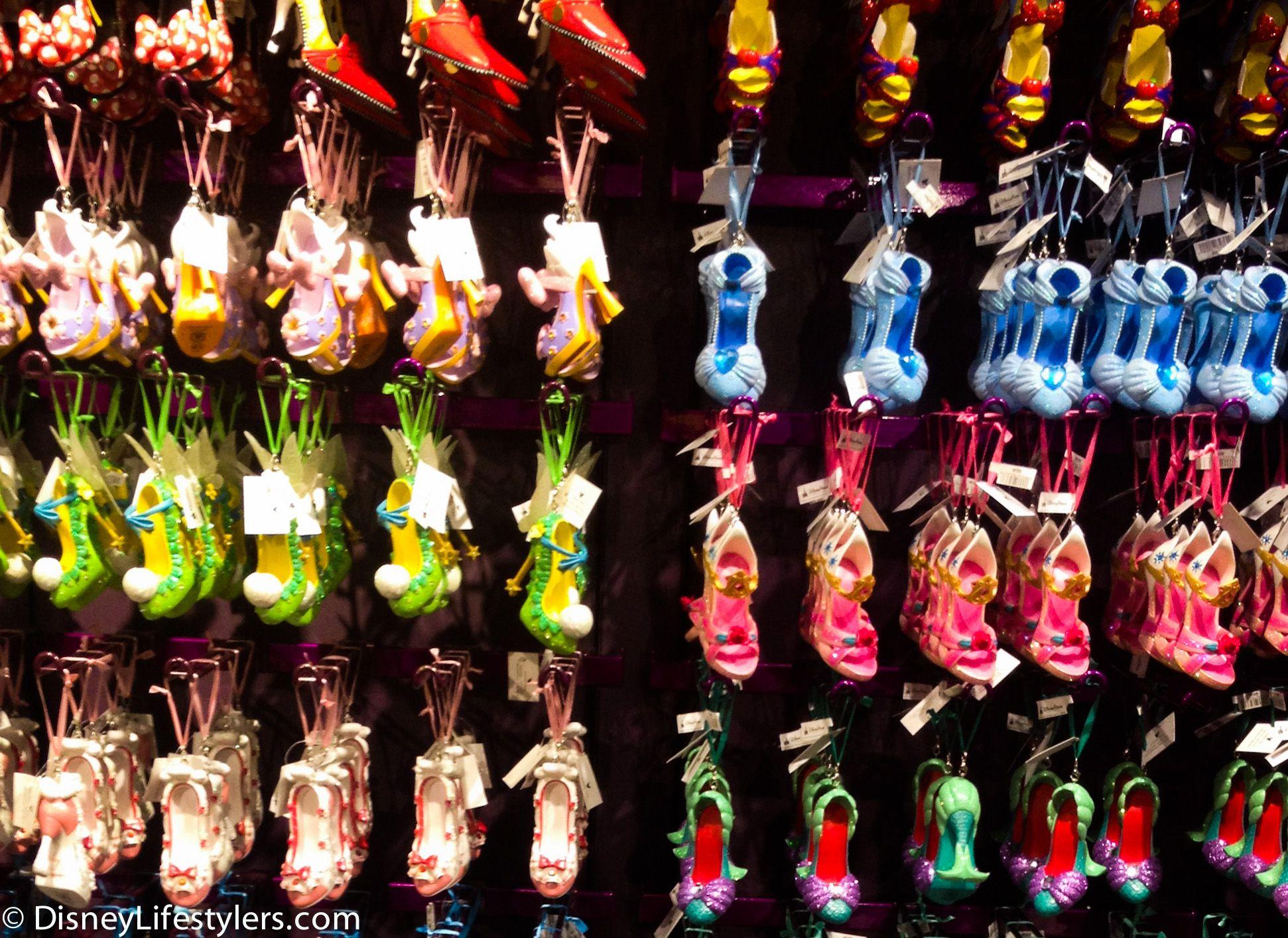 New+Disney+Ornaments | New Disney Princesses and More Shoe ...