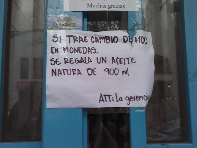 Carteles de locales argentinos