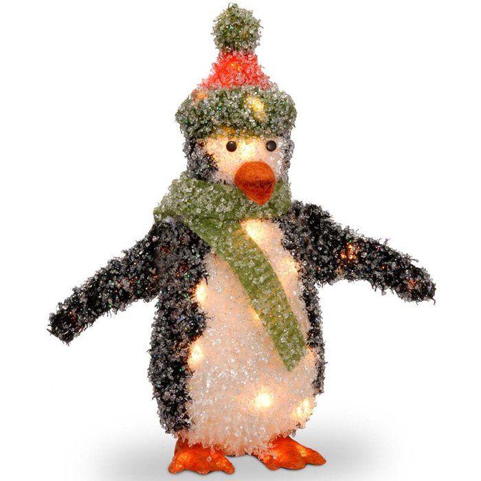 Pre-Lit Outdoor Christmas Penguin  sc 1 st  Pinterest & Pre-Lit Outdoor Christmas Penguin | Merry Christmas | Pinterest ...
