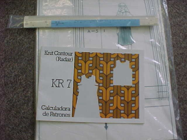Knitting Machine Tutorial : Tutorial for the studio singer knit contour radar
