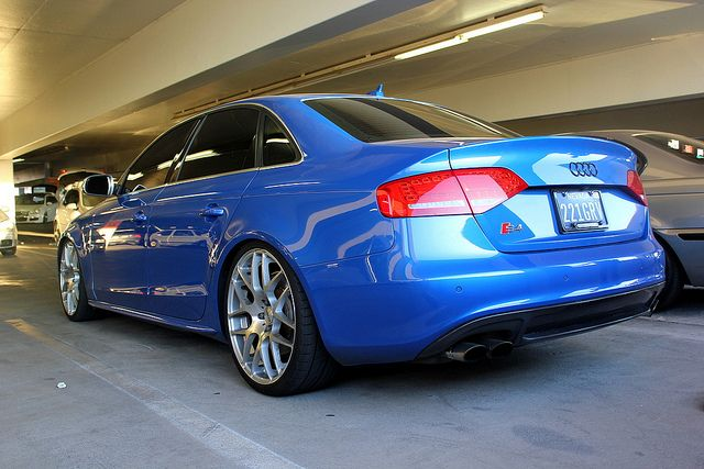Sprint Blue B8 Audi S4 Audi S4 Audi Blue Audi