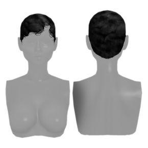 Finger Waves Hair For The Sims 4 Sims Hair Sims 4 Black Hair Finger Wave Hair