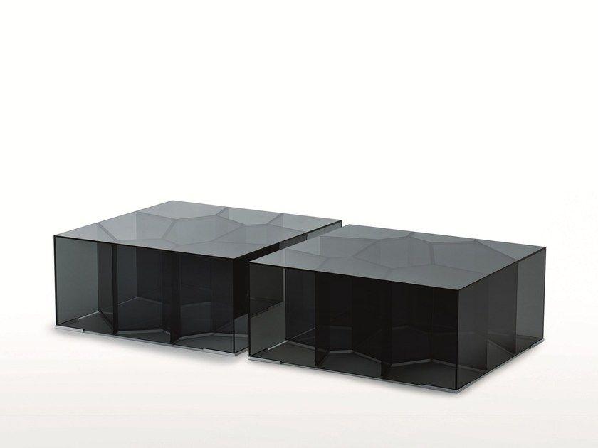 Glas Wohnzimmertisch ~ Die besten quadratischer couchtisch aus glas ideen auf