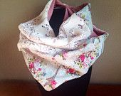 Paris in the springtime handmade romantic lace scarf. 20+shipping