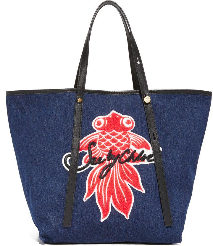 関税送料込み!!logo large tote bag ハンドバッグ