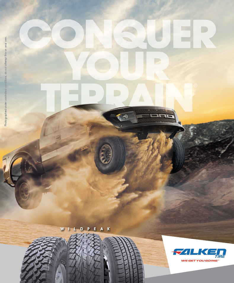 Recoil, OffGrid Magazine Advertising, Conquer Your Terrain, WildPeak