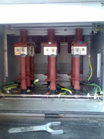 11kv Heat Shrink Cable Terminations In Abb Switchgear Single Core
