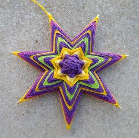 Mandalas Olho de Deus: Mini Mandalas II