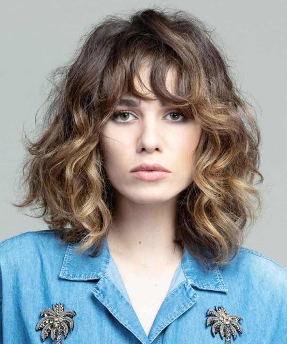 Tagli capelli ricci 2021 corti, medi, lunghi: Tendenze ...