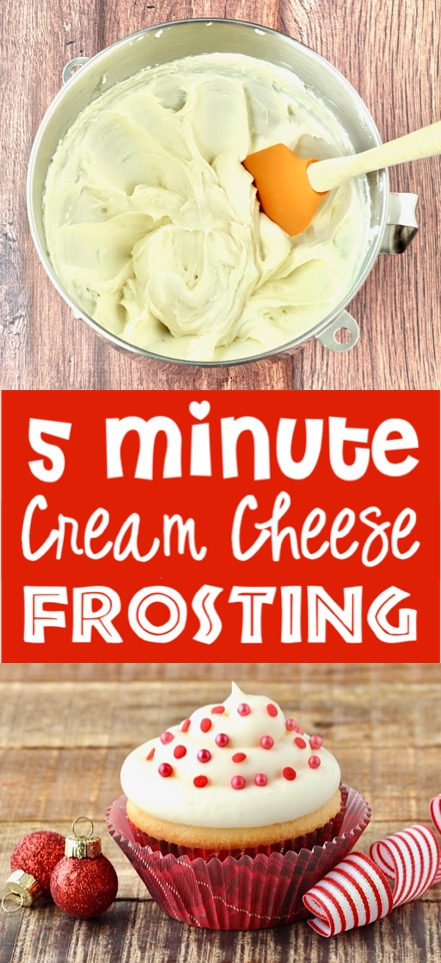 Cream Cheese Frosting Easy Recipe!