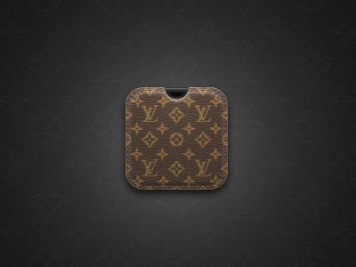 Louis Vuitton Icon Case Louis vuitton, App icon, Leather