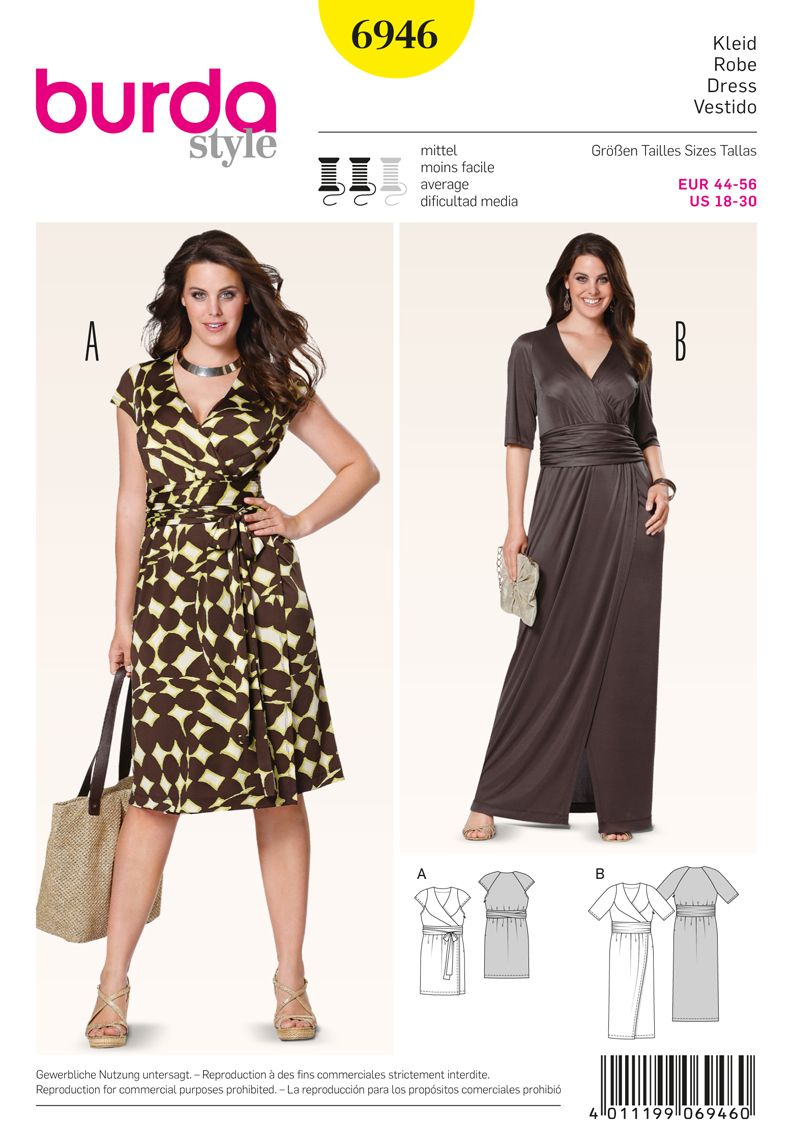 Simplicity Creative Group - Burda Style Plus to size 60 | Patterns ...