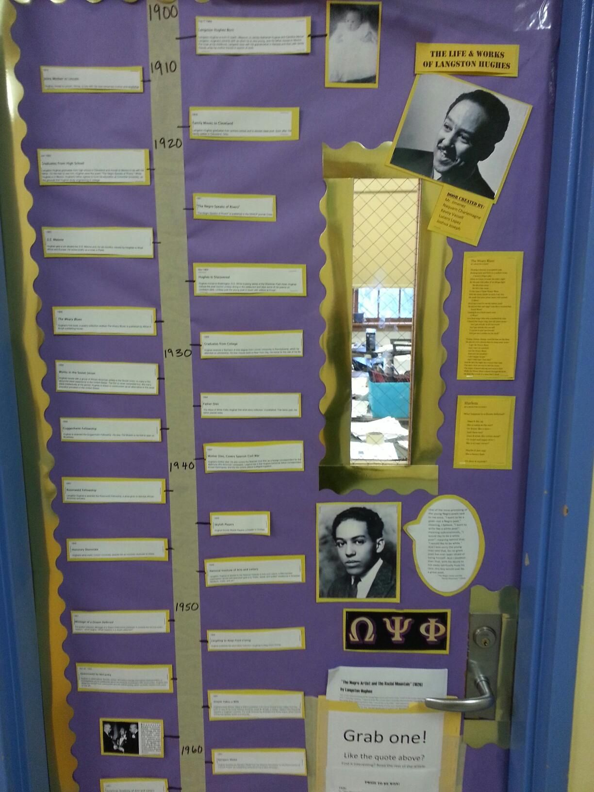Black History Month Door Decoration Thought This Was A