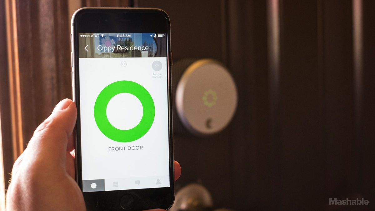 Siri can unlock your front door with August\'s HomeKit-ready smart ...