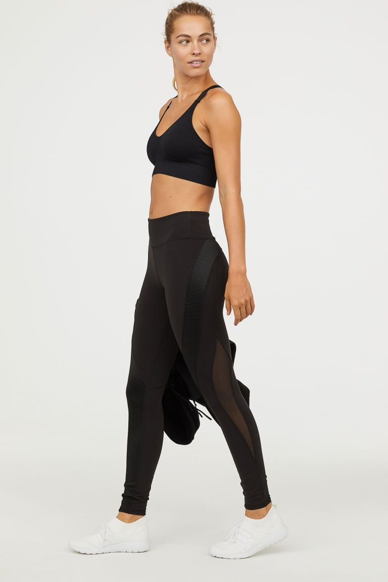 Shaping Sportlegging.Sportlegging Shaping Waist In 2019 H M Zwart Kleding Leggings