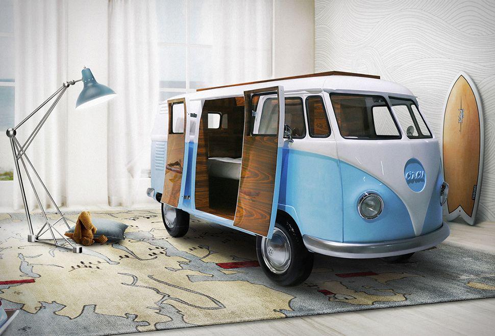 Etagenbett Bussy Gebraucht : Vw camper van bed pinterest mini bars bequemes bett und