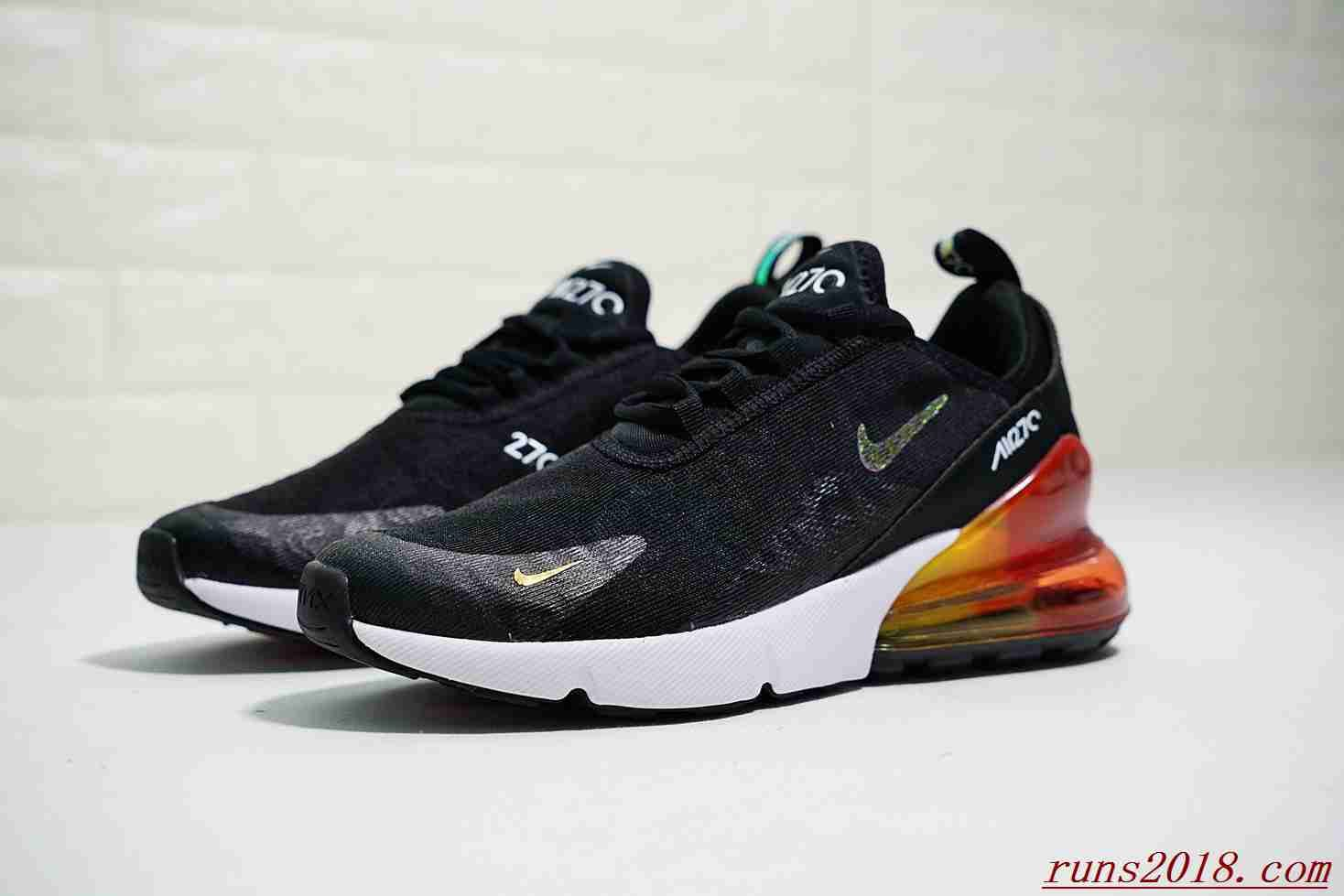huge selection of 1c9f5 49f80 Nike Air Max 270 Lace Black Rainbow