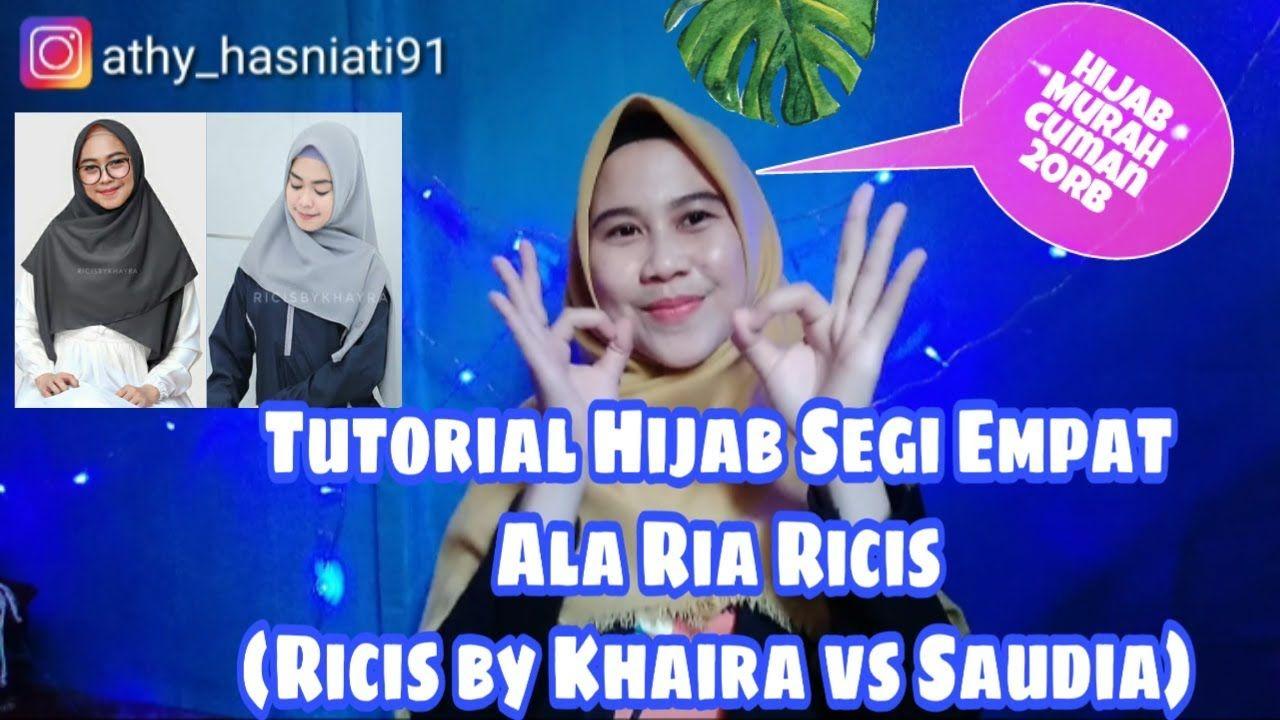 Tutorial Hijab Segi Empat Ria Ricis Blog Lif Co Id