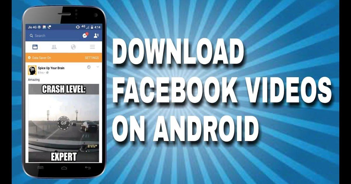 download facebook videos mobile phone