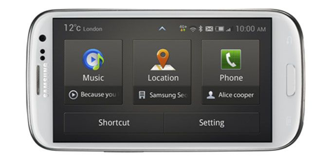 Today Samsung introduced, in the Android market, a new app