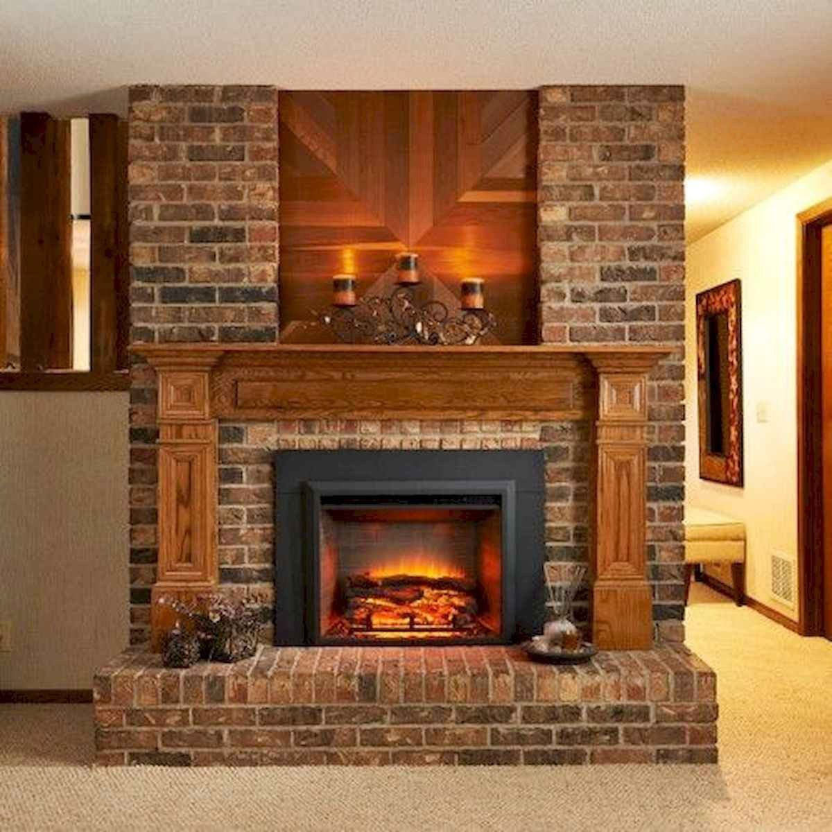 60 Favourite Log Cabin Homes Fireplace Design Ideas