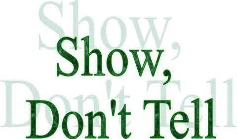 Writing Exercise: Show, Don't Tell - Write Divas