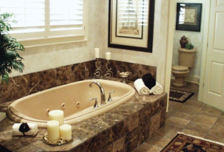 The Master Bathroom Bathtub Decor Bathroom Tub Garden Tub Decorating